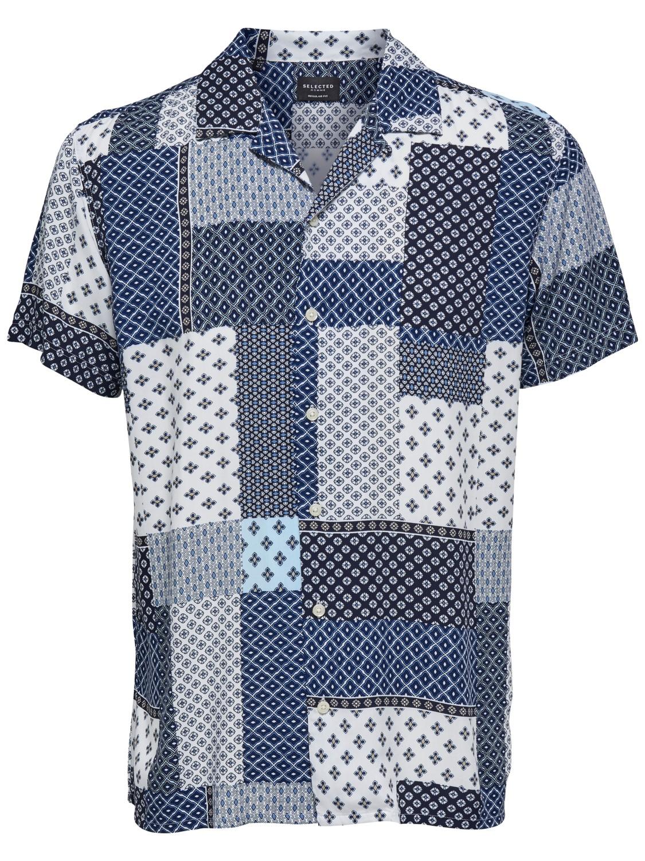 Selected Skjorte - Slhregfuse Shirt   Gate36 Hobro