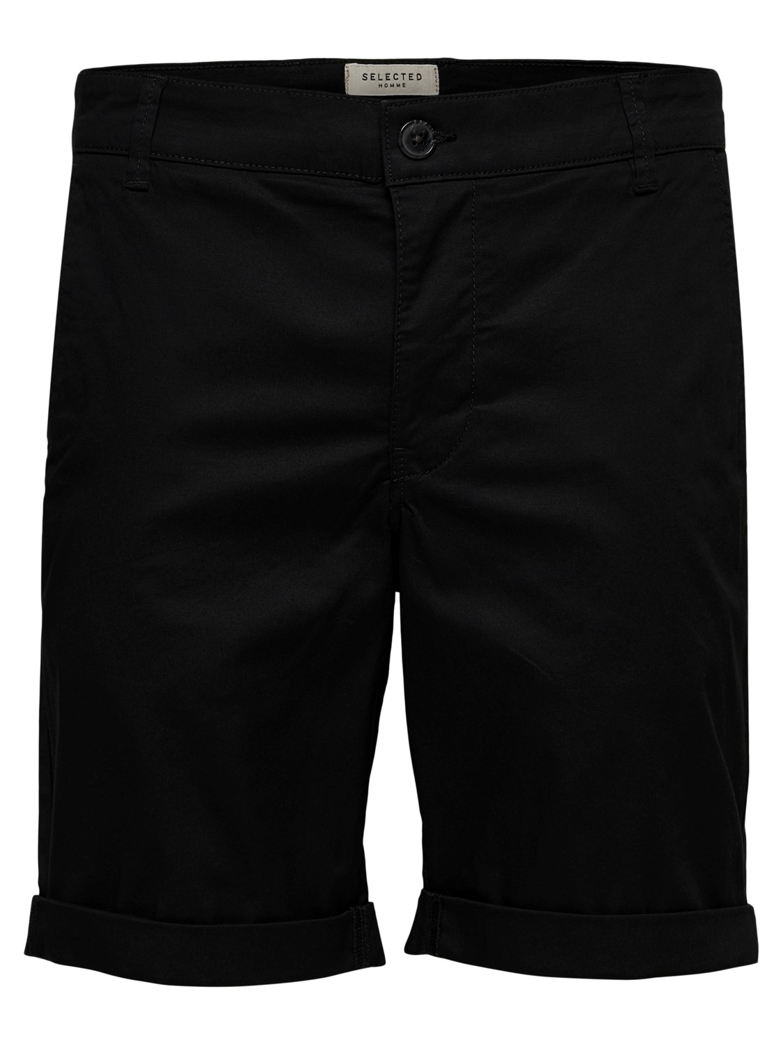 Selected - Chino Shorts Black | GATE 36 Hobro