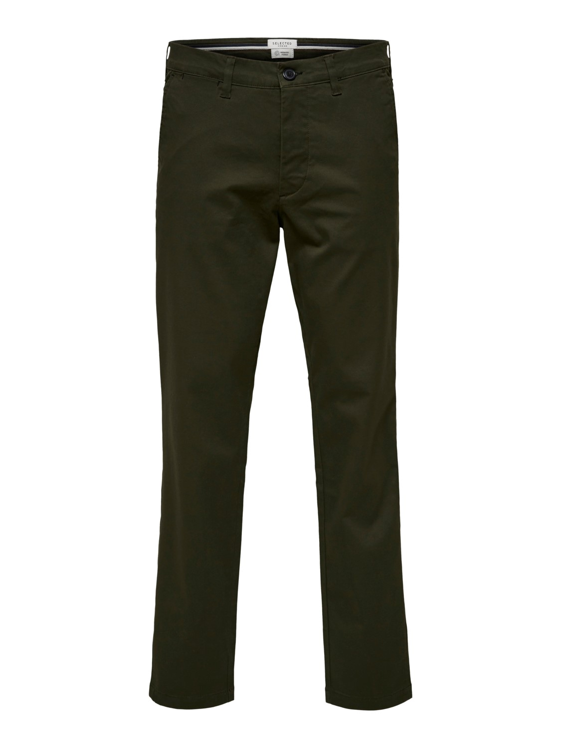 Selected Chino´s flex pants forest night | Gate36 Hobro