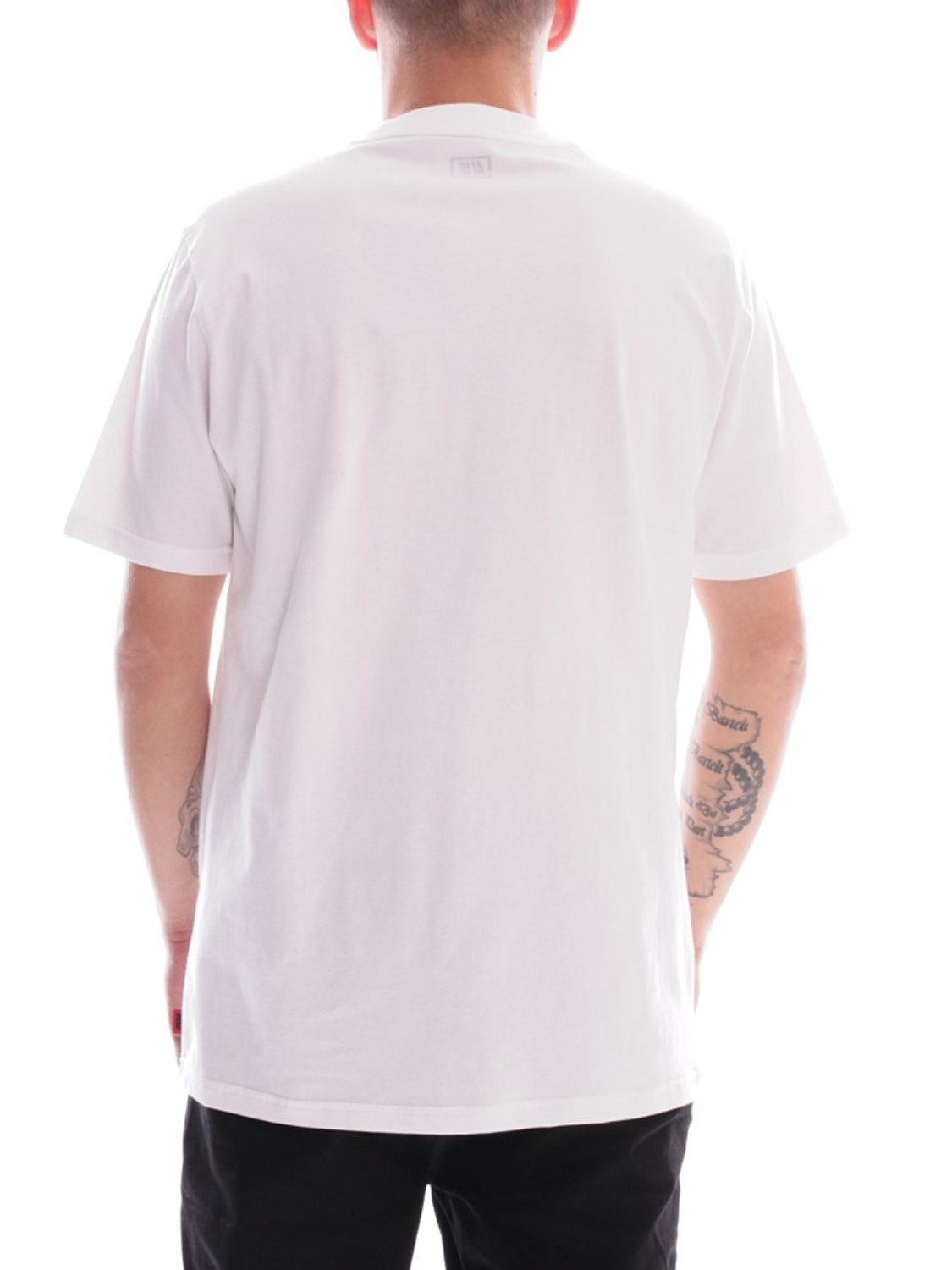 ALIS - T-SHIRT SPLATTER WHITE | GATE 36 HOBRO