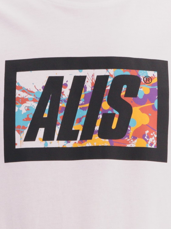 ALIS - T-SHIRT SPLATTER WHITE | GATE 36 HOBRO