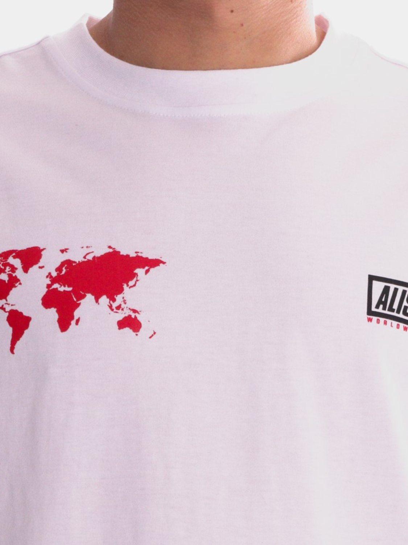 ALIS- T-SHIRT WORLDWIDE WHITE | GATE36 HOBRO