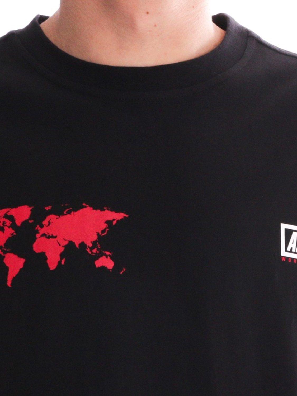 ALIS- T-SHIRT WORLDWIDE BLACK | GATE36 HOBRO