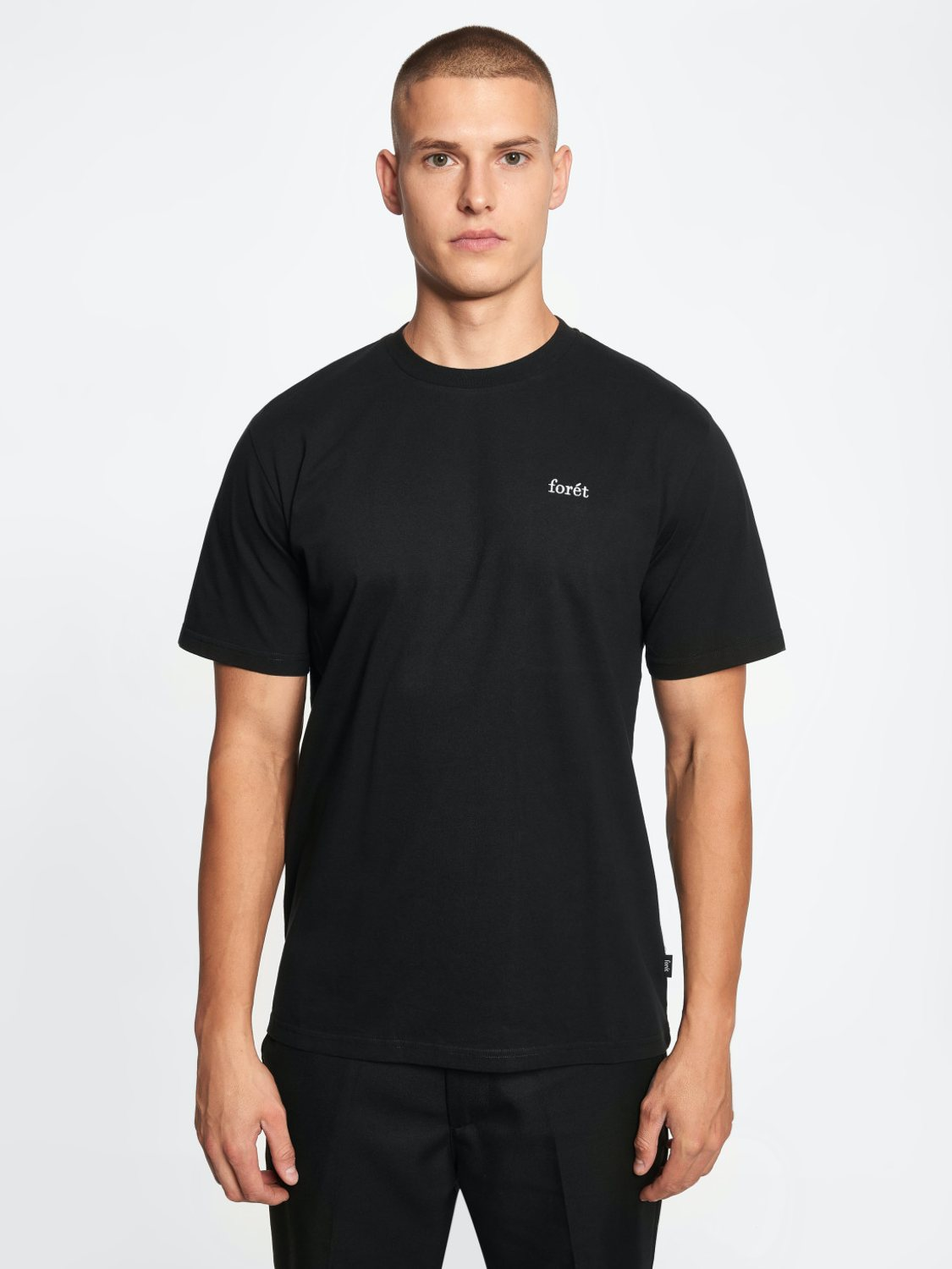 FORÉT - Air T-Shirt black | Gate36 Hobro