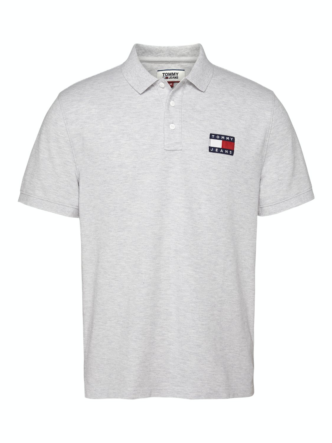TJM - Badge Polo LT Grey | Gate36 Hobro