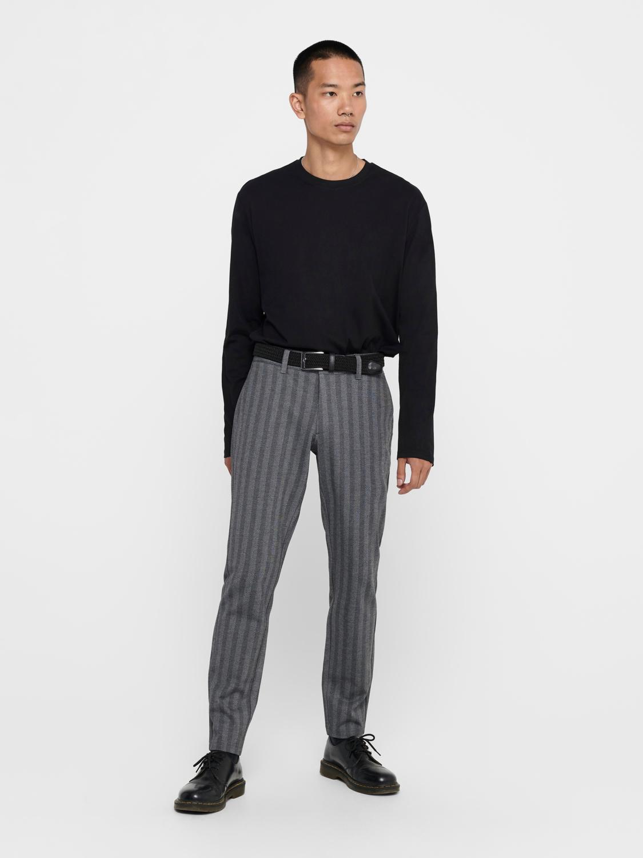 ONLY & SONS - Onsmark kamp Pants medium Grey | GATE 36 Hobro