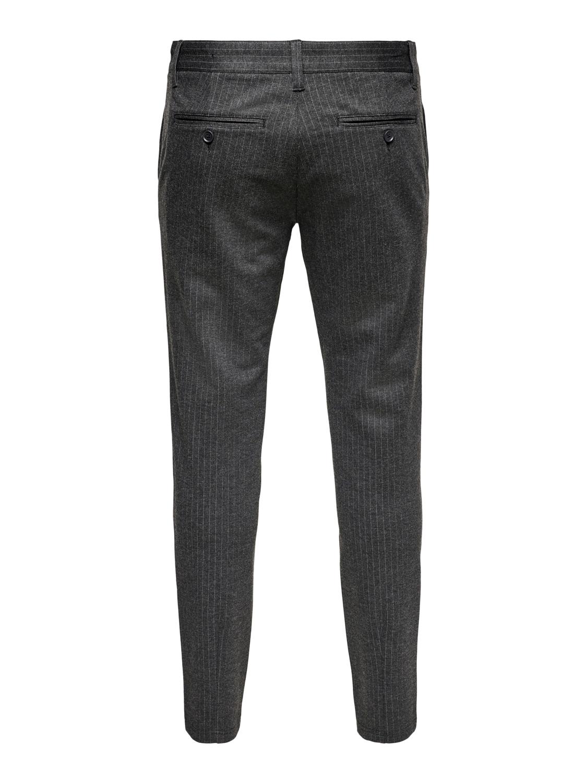 ONLY & SONS - Mark Pants Stripe Grey GW3727 | GATE 36 Hobro