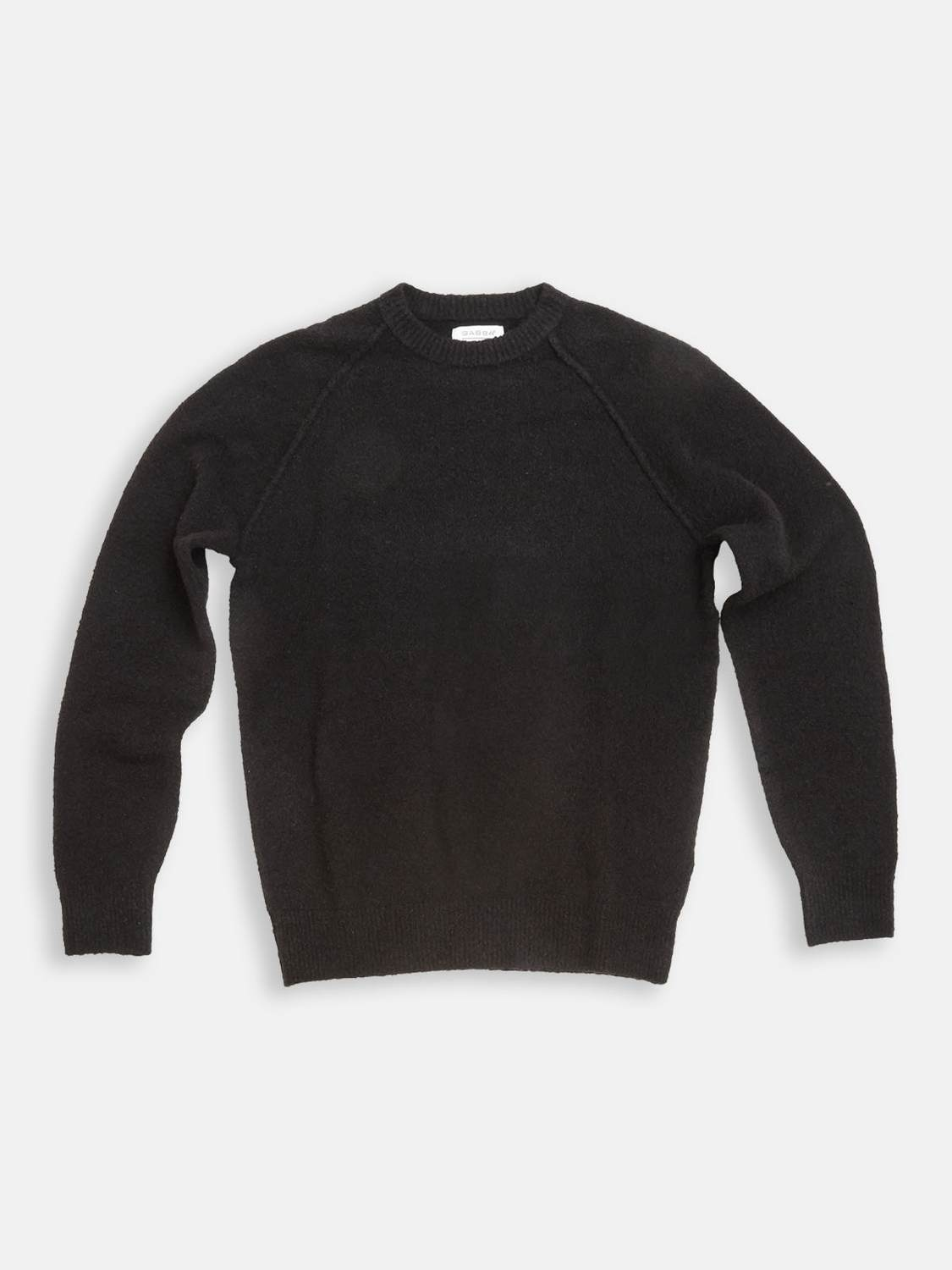 GABBA - ARTIC BOUCLE KNIT BLACK STRIK | GATE 36 Hobro