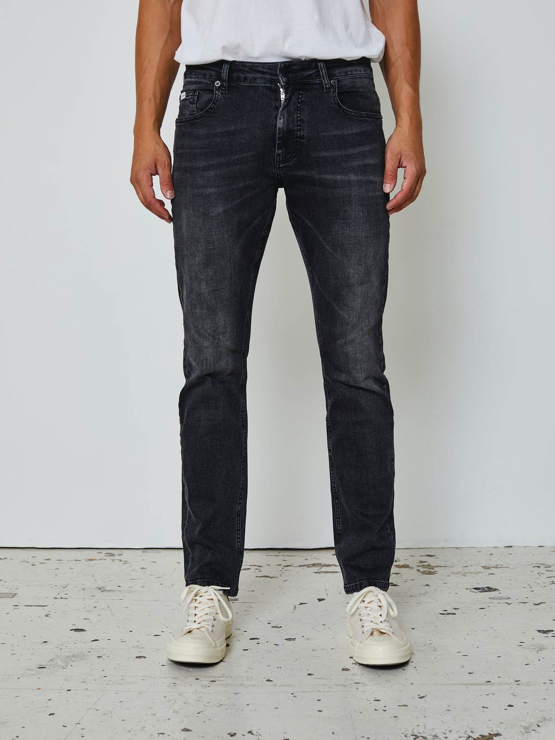 Just junkies Jeans - JEFF LOOSE GREY JJ2001 | GATE 36 Hobro