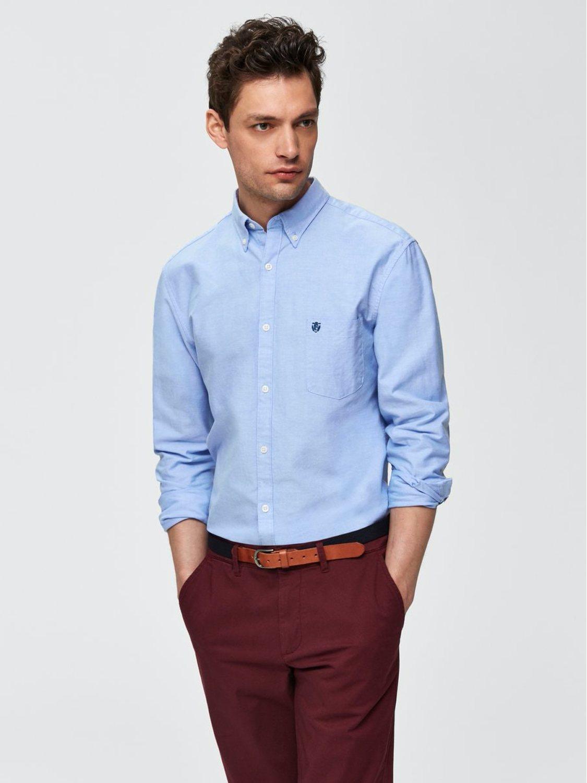 Selected Skjorte - SlhCollect Light Blue | GATE 36 Hobro