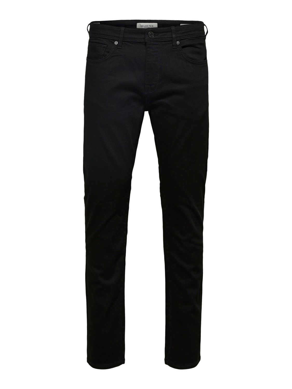 Selected Jeans - Leon 3031 SUPER ST BLACK DENIM | Gate36 Hobro