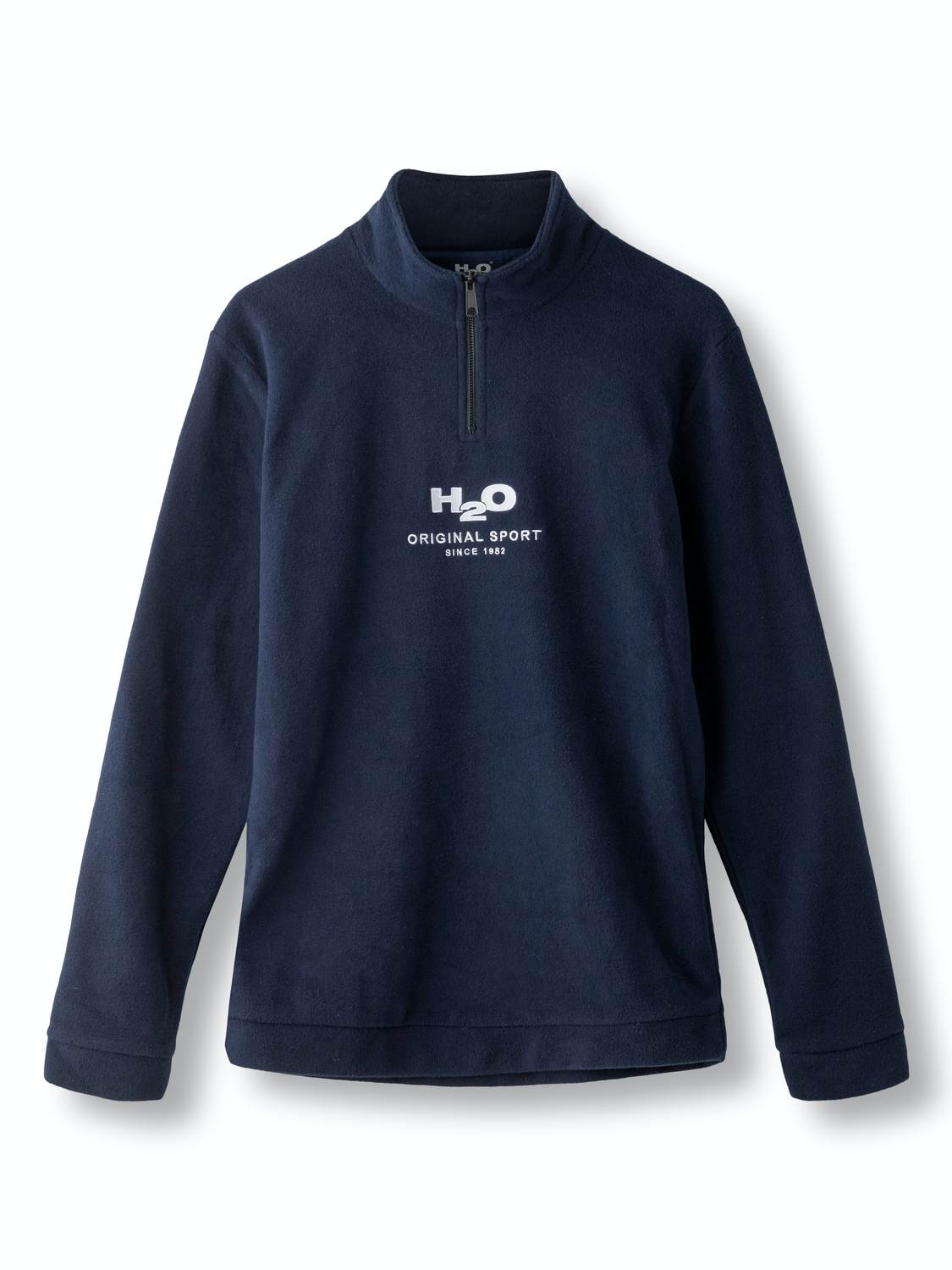H2O Blåvand Fleece Half Zip Navy | GATE 36 Hobro