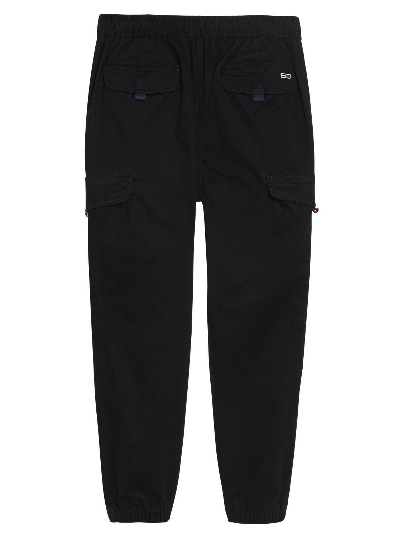 Tommy Jeans - Cargo Pants Jogger Black | GATE 36 Hobro