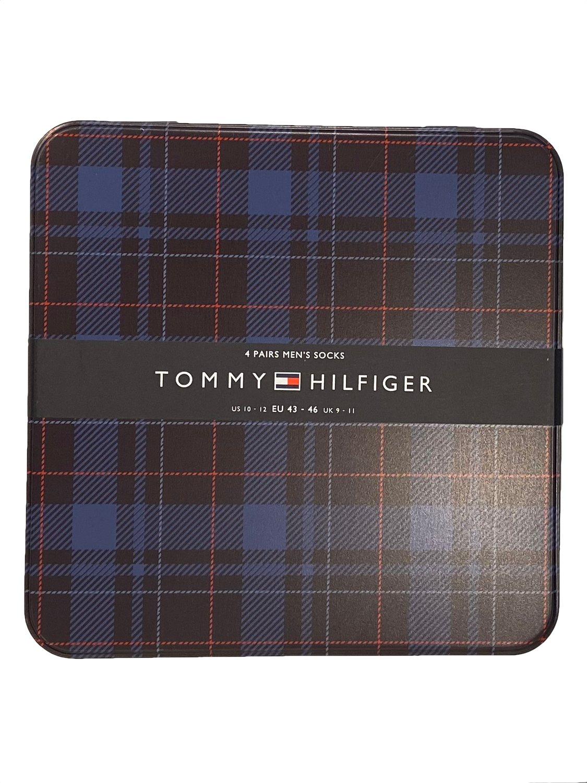 Tommy Hilfiger - Strømper 4Pak Gaveæske | GATE 36 Hobro