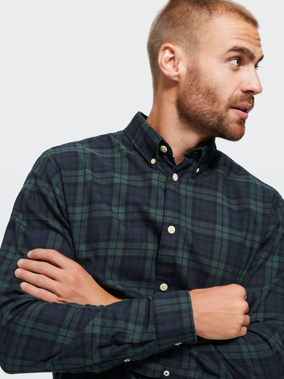 Selected Skjorte - Slhslimhouston shirt Rosin Checks | GATE 36 Hobro