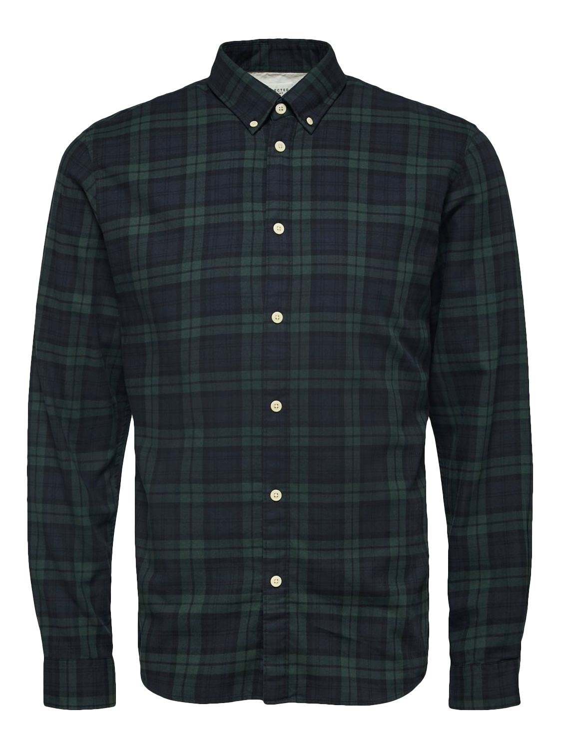 Selected Skjorte - Slhslimhouston shirt Rosin Checks | GATE 36 Hobro