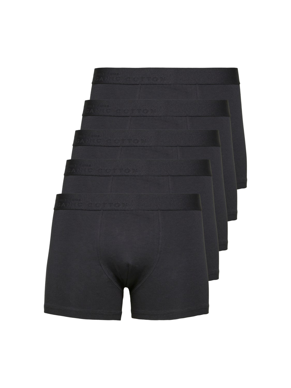 SELECTED 5 PACK BOXERSHORTS BLACK | GATE 36 Hobro