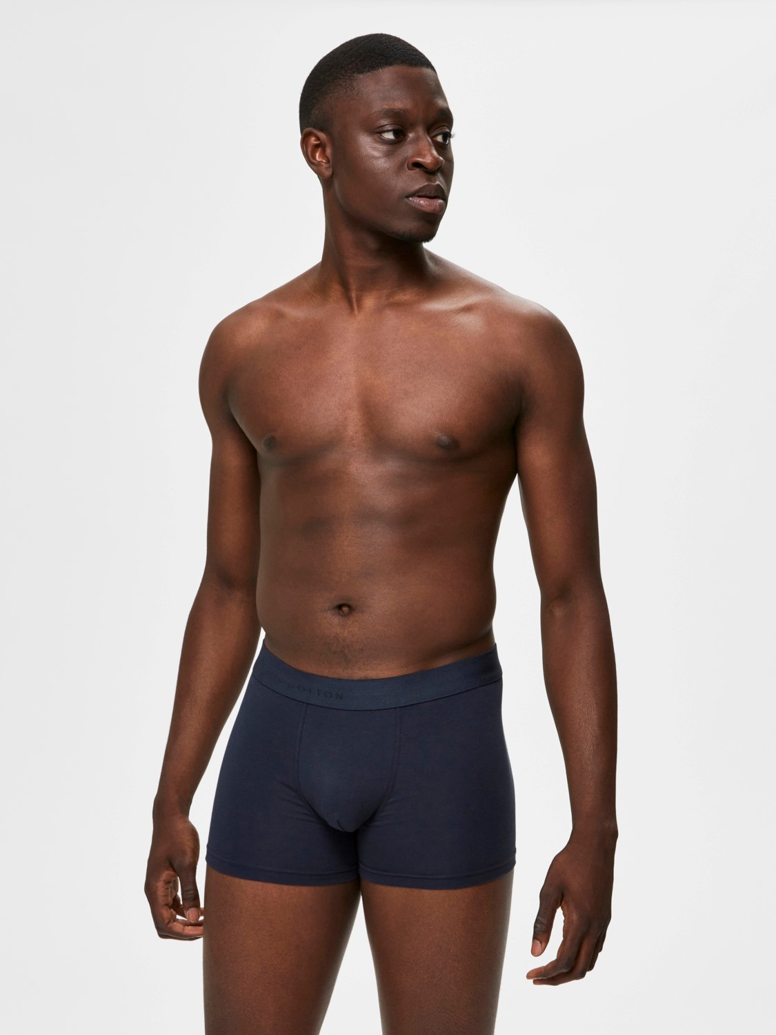 SELECTED 5 PACK BOXERSHORTS NAVY | GATE 36 Hobro