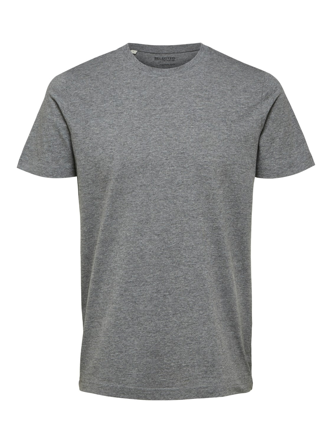 Selected - T-shirt o-neck grey | Gate36 Hobro