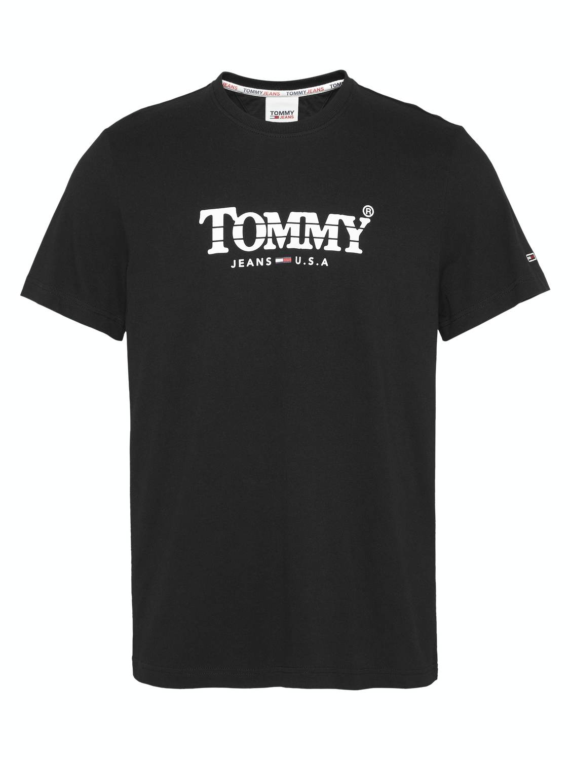 TJM GRADIENT T-SHIRT - BLACK | GATE 36 Hobro