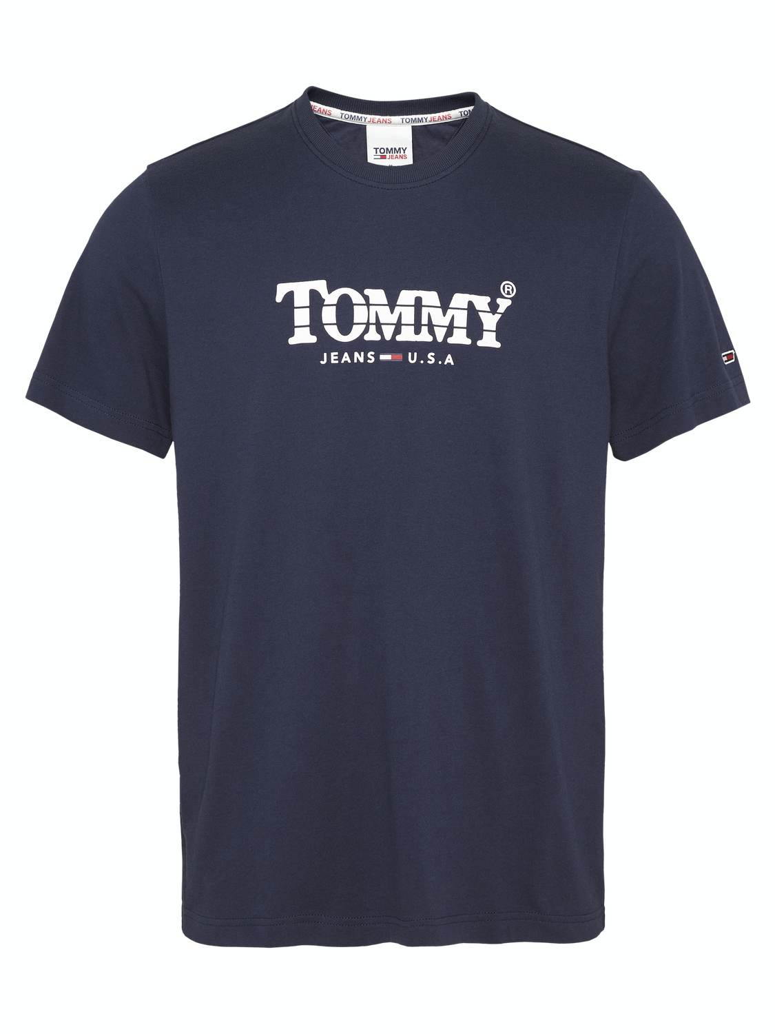 TJM GRADIENT T-SHIRT - NAVY | GATE 36 Hobro