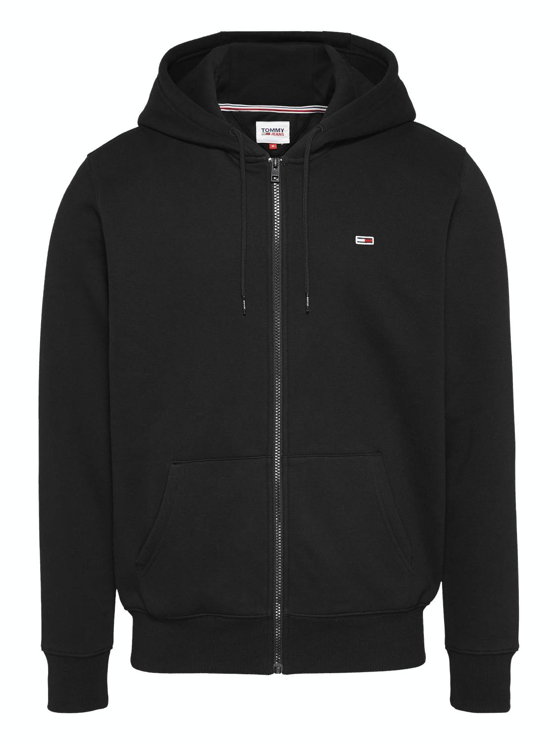 TOMMY HILFIGER - Fleece cardigan black | Gate36 Hobro