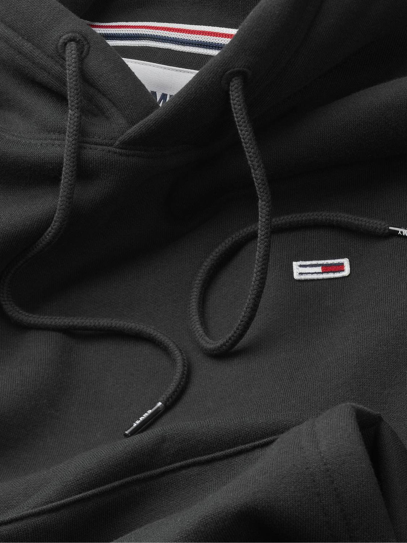 TOMMY HILFIGER - Fleece hoodie black | GATE 36 Hobro
