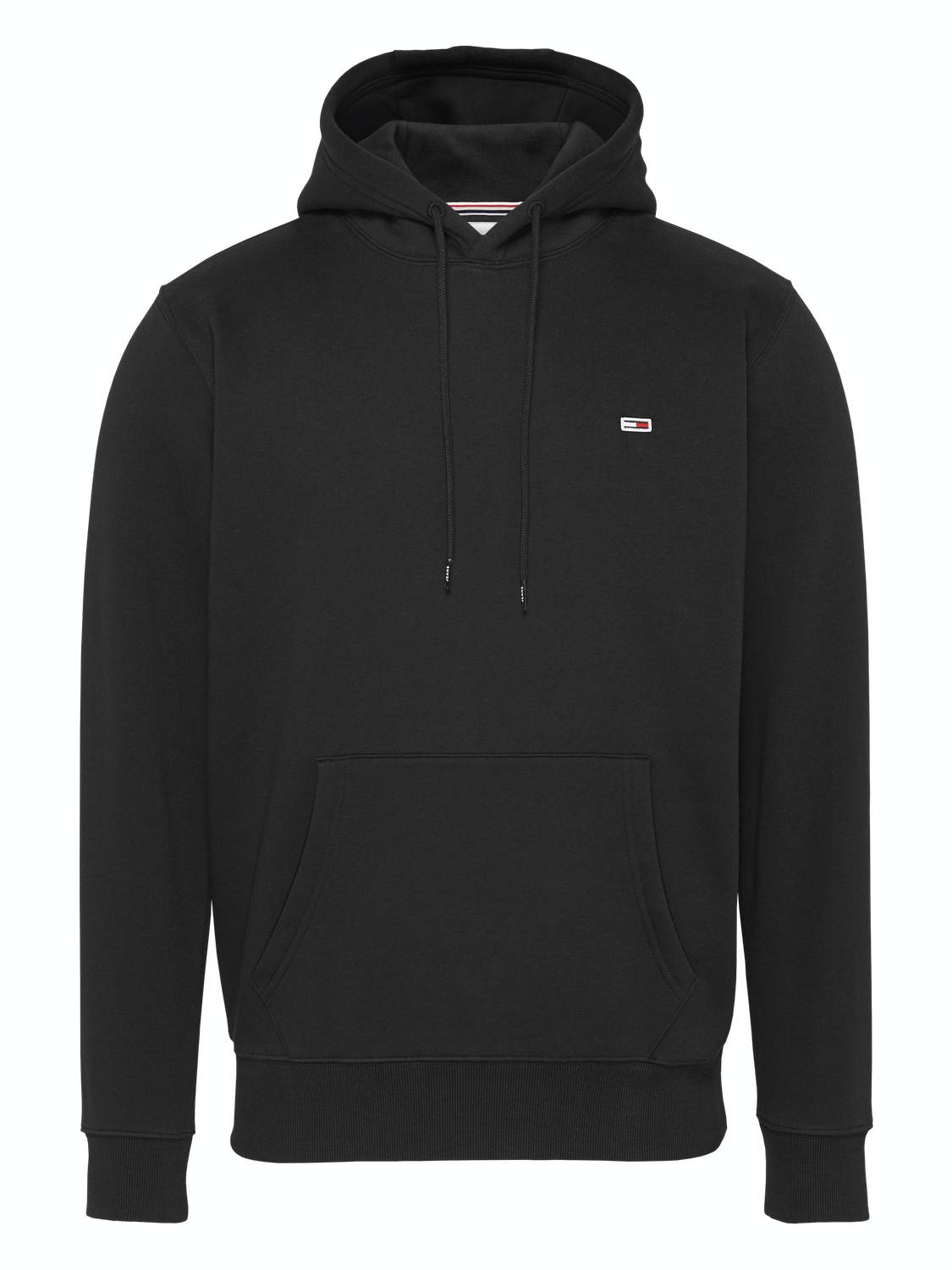 TOMMY HILFIGER - Fleece hoodie black | GATE 36 Hobro