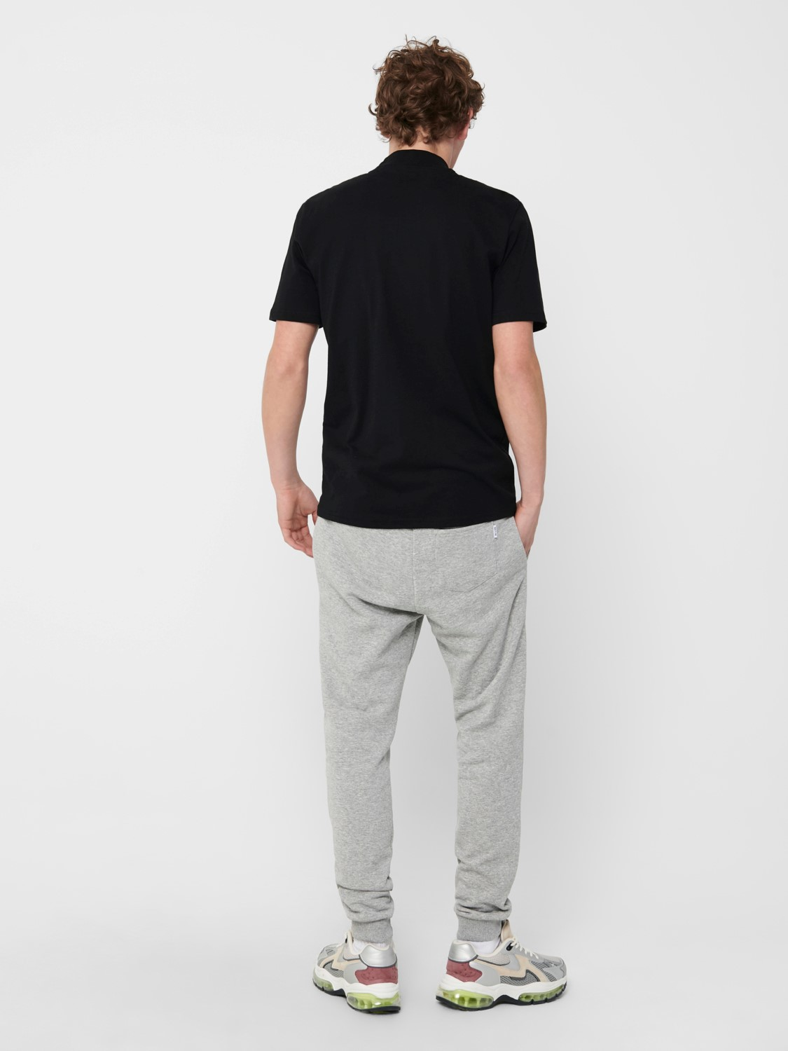 ONLY & SONS - ONSCERES SWEAT PANTS GREY | GATE 36 Hobro