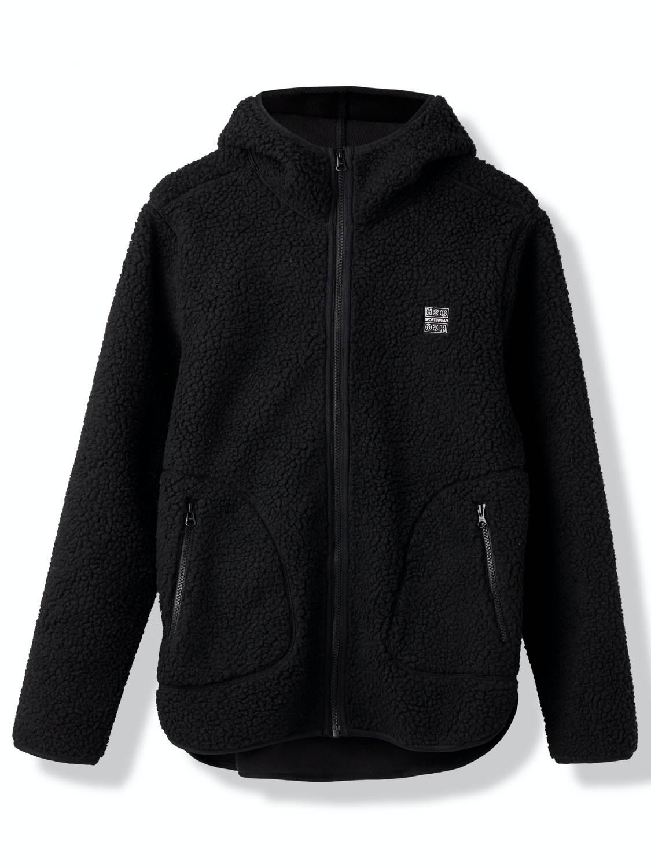 H2O jacket - Langli pile jacket black | GATE 36 Hobro