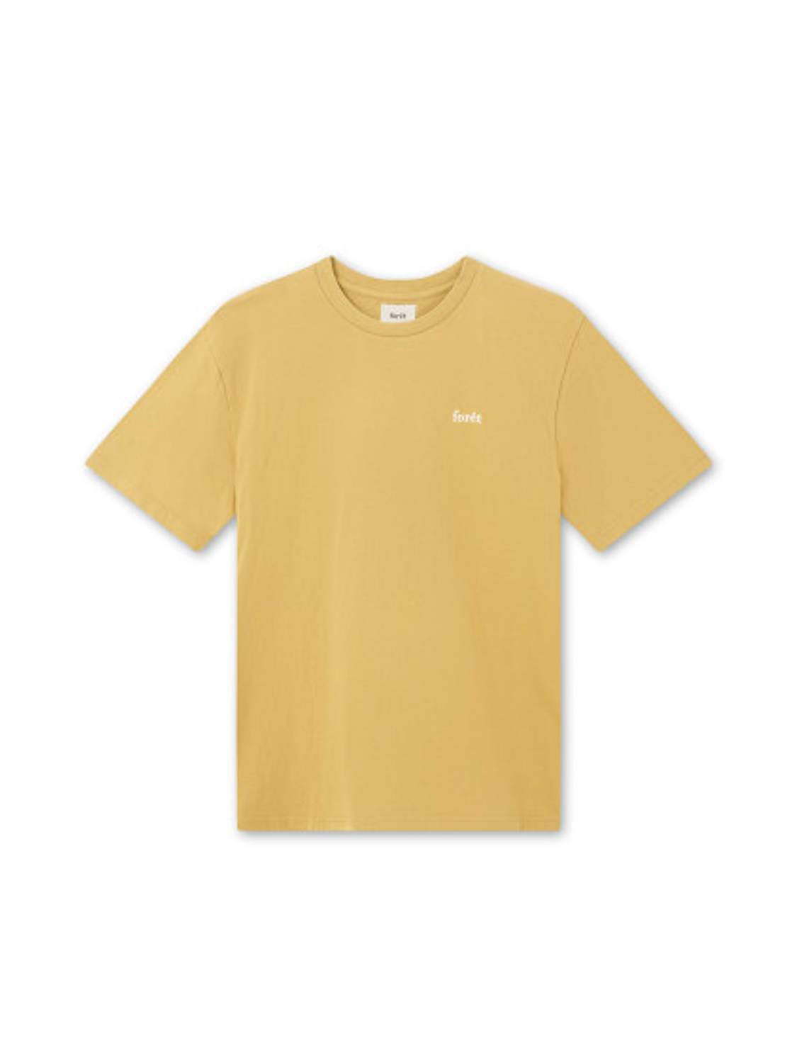 FORÉT - Air T-Shirt Ochre | GATE 36 Hobro