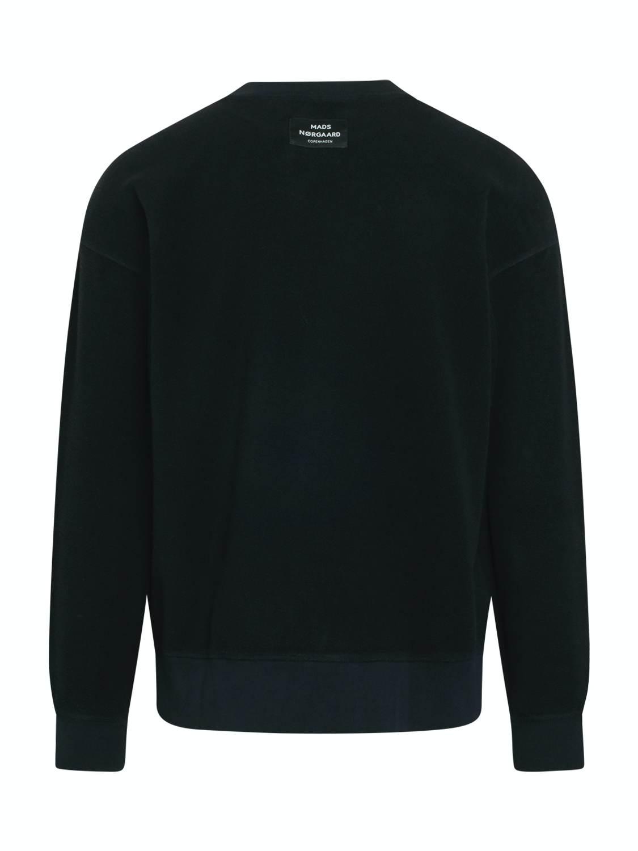 Mads Nørgaard Sweatshirt - Reverse Washed Black | GATE 36 Hobro