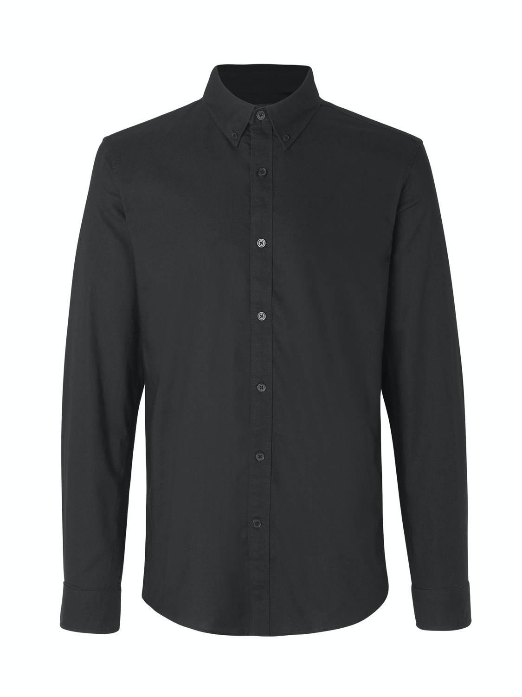 Mads Nørgaard Skjorte - Oxford Black