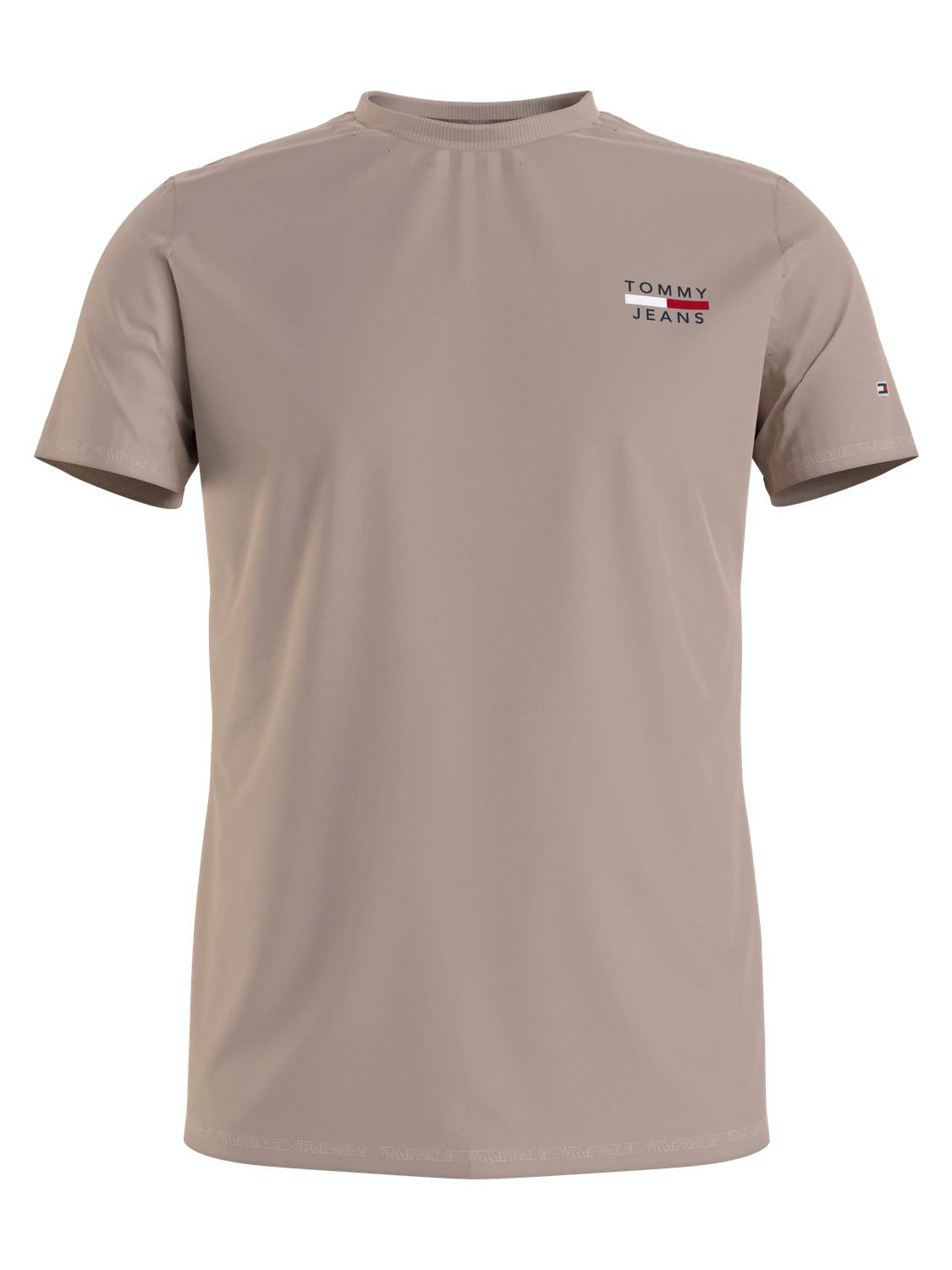 TOMMY HILFIGER T-SHIRT CHEST LOGO SOFT BEIGE | GATE 36 Hobro