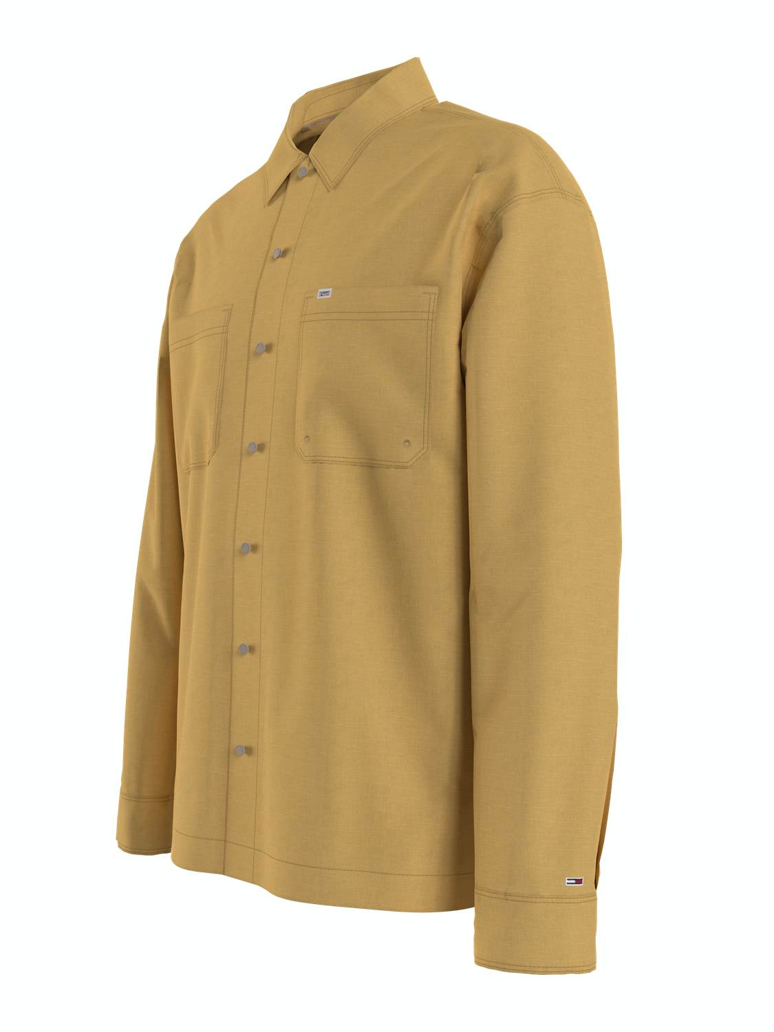 TOMMY HILFIGER - Skjorte LIGHTWEIGHT TWIL DUSTY GOLD | GATE 36 Hobro