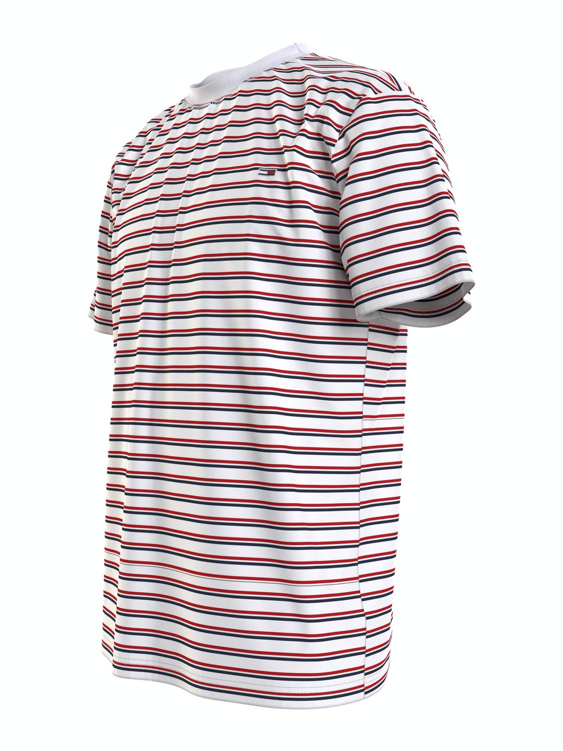 TOMMY HILFIGER T-SHIRT TWO TONE STRIPE MULTI | GATE 36 Hobro