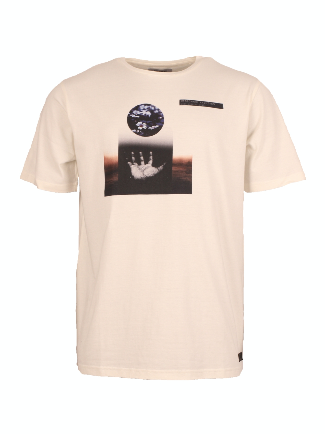 Just Junkies Moz Tee - Off White | GATE 36 Hobro
