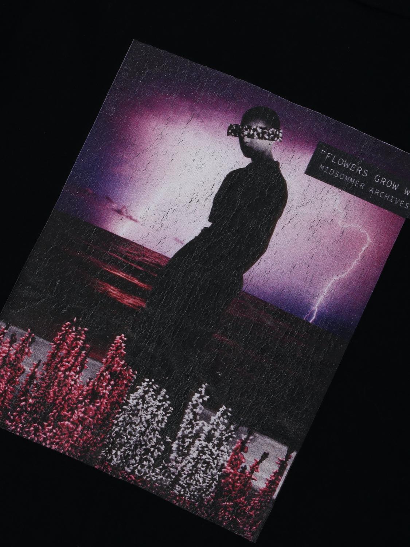 Just Junkies Gras Tee - Black | GATE 36 Hobro