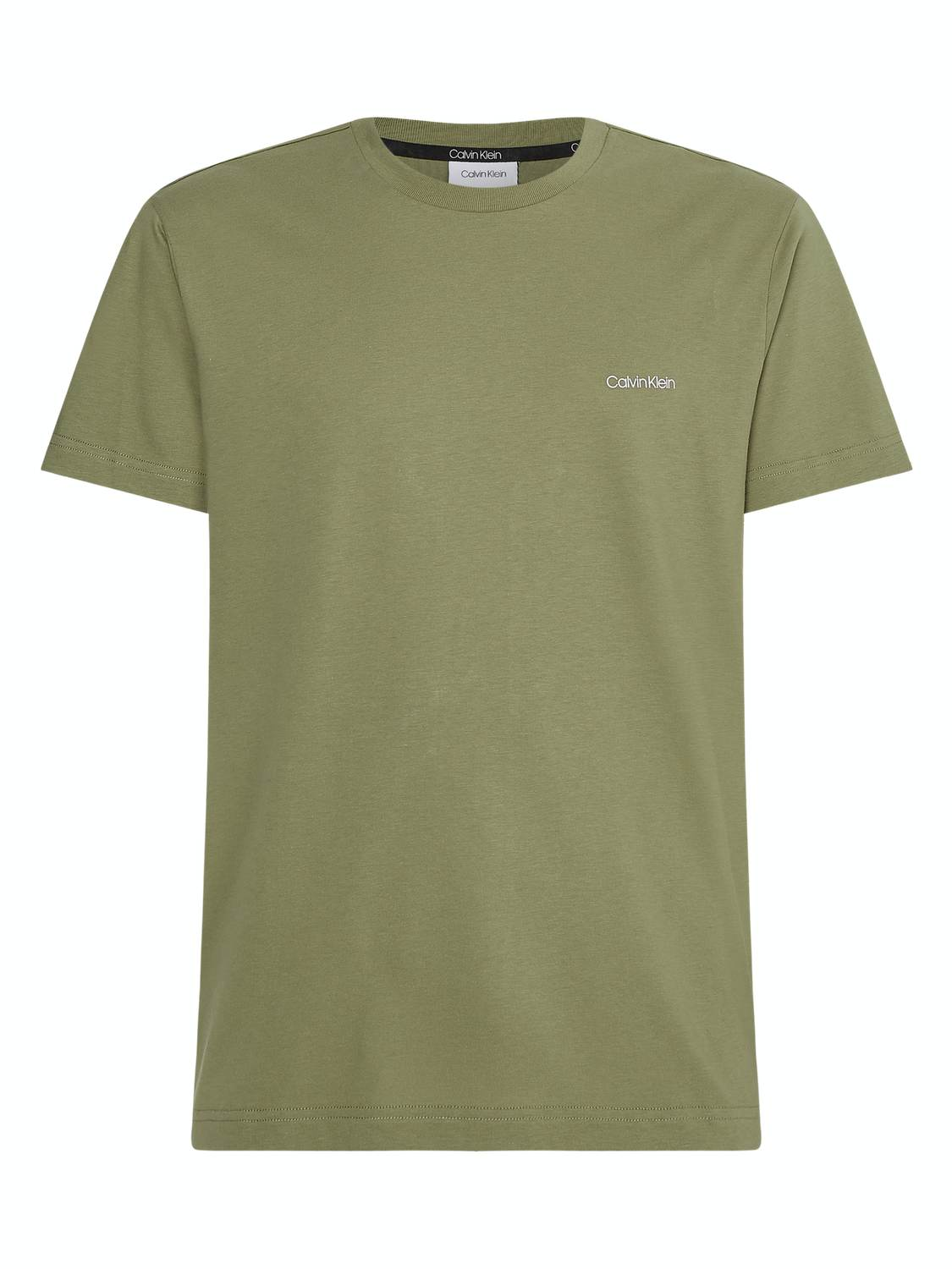 CALVIN KLEIN T-SHIRT CHEST LOGO GREEN | GATE 36 Hobro