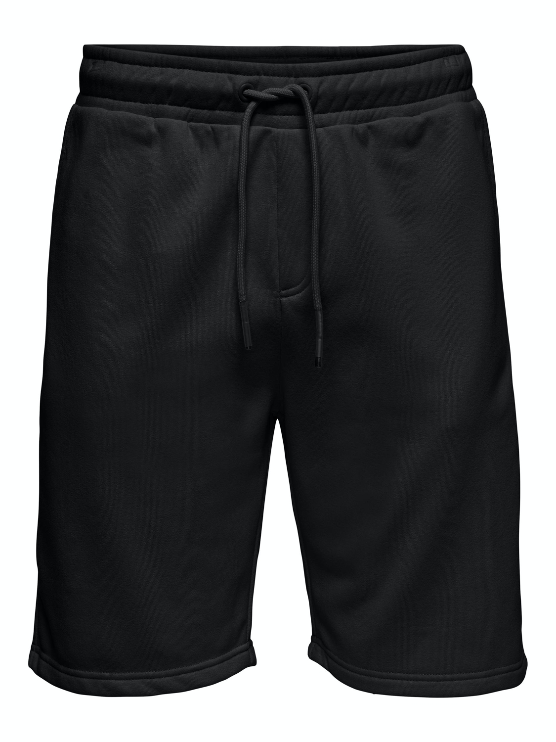 ONLY & SONS - ONSCERES SWEAT SHORTS BLACK | Gate36 Hobro