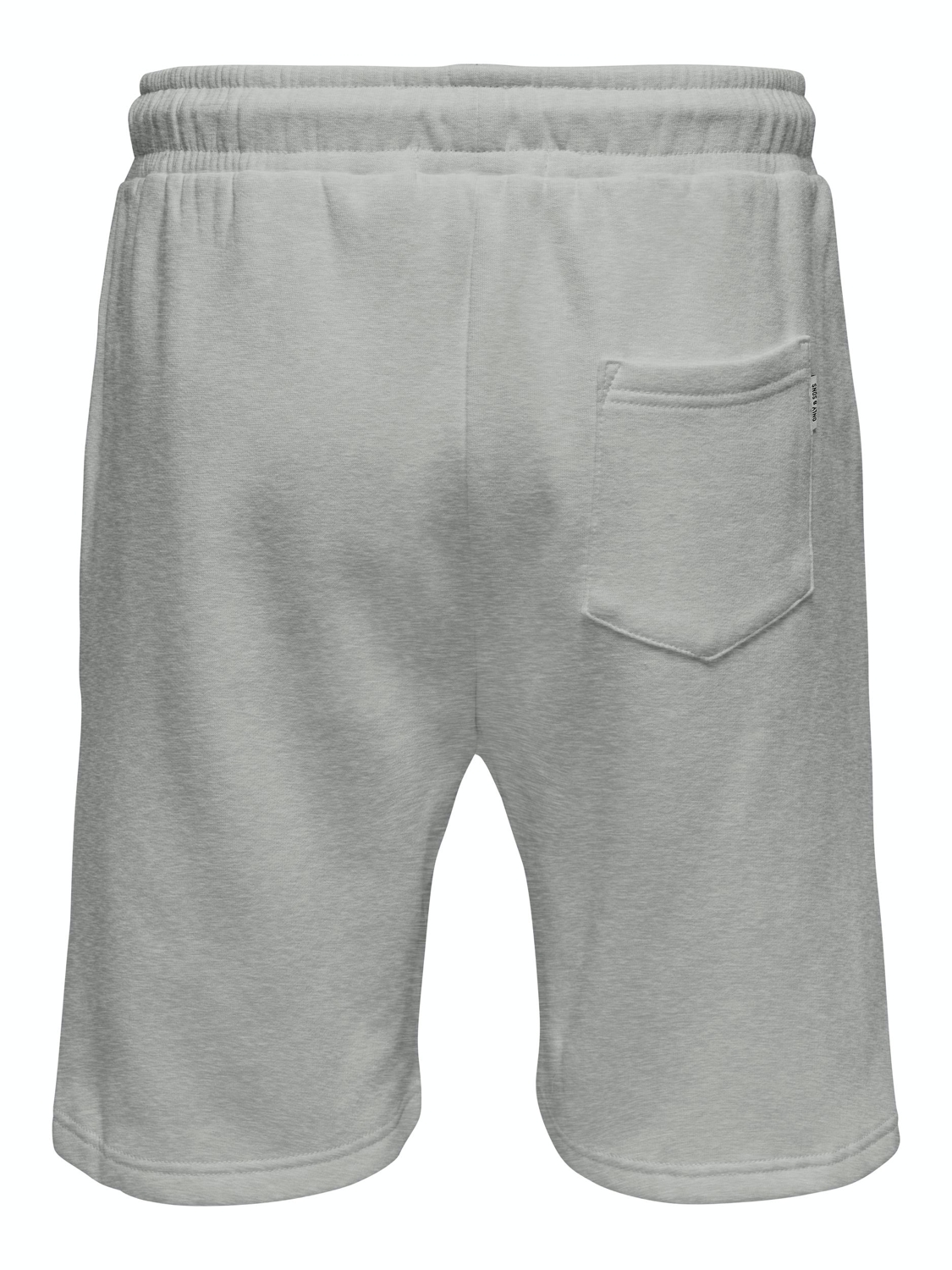 ONLY & SONS - ONSCERES SWEAT SHORTS GREY | Gate36 Hobro