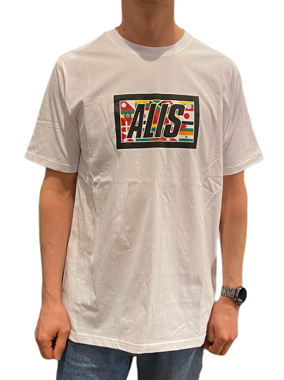 ALIS- T-SHIRT BOX LOGO WHITE | Gate36 Hobro