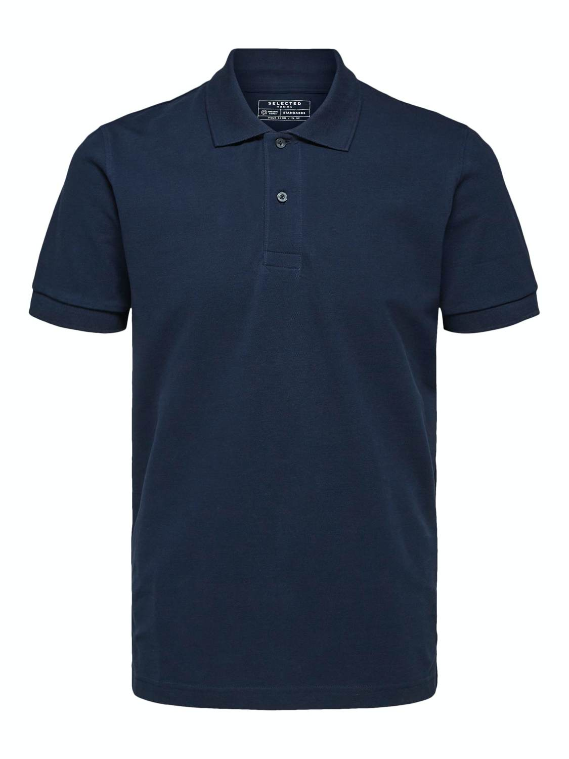 SELECTED POLO T-SHIRT SLHNEO NAVY | GATE 36 Hobro