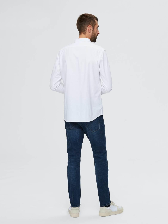 Selected Skjorte - Slhsregrick-ox White   GATE 36 Hobro
