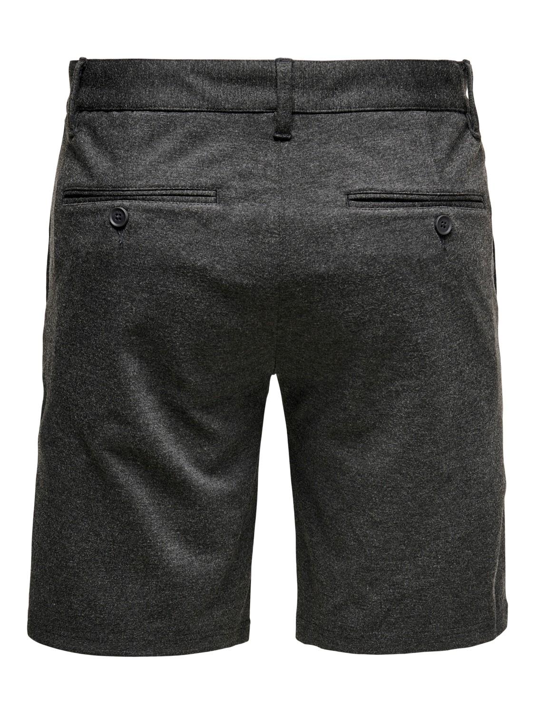 ONLY & SONS - OnsMark Shorts dark grey | Gate36 Hobro
