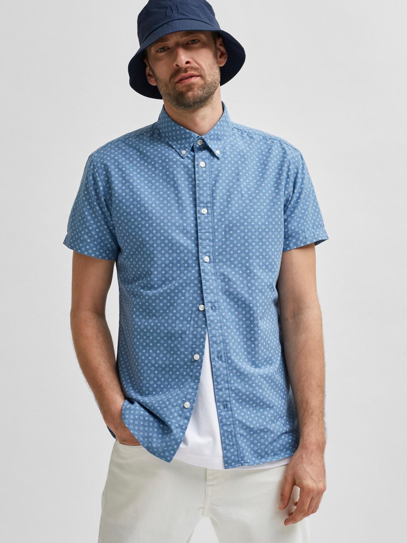 Selected Skjorte - SLHSLIMHART SHIRT LIGHT BLUE | Gate36 Hobro