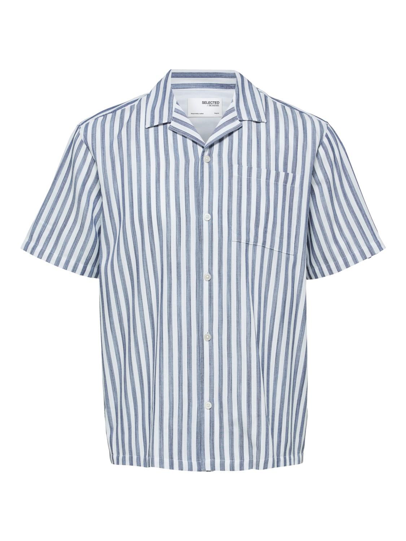Selected Skjorte - SLHRELAXWADE SHIRT STRIPES | Gate36 Hobro