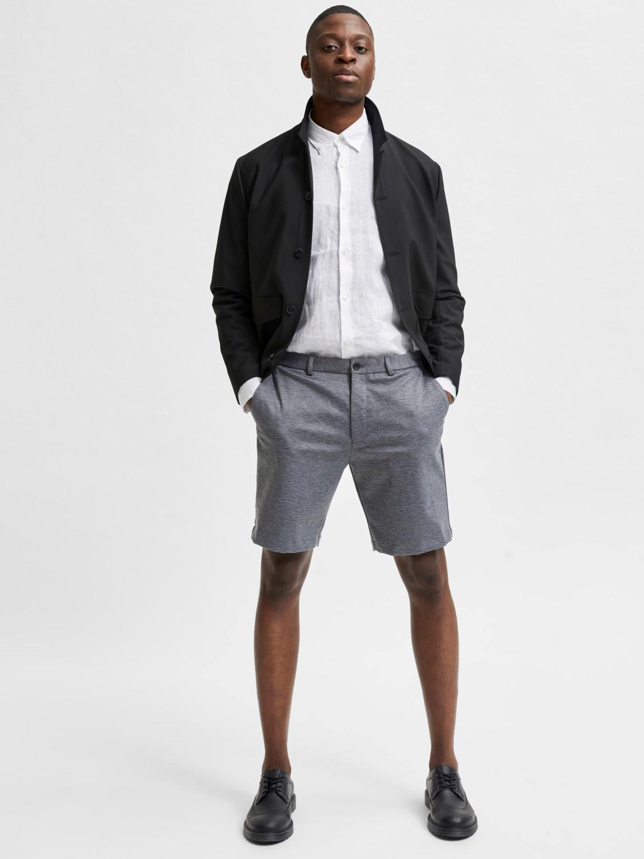 Selected - slhaiden Shorts Grey | Gate36 Hobro