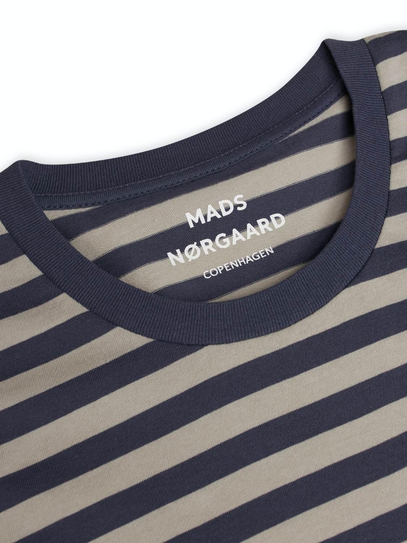 Mads Nørgaard Favorite Tee - Parisian/Wrought iron | GATE 36 Hobro