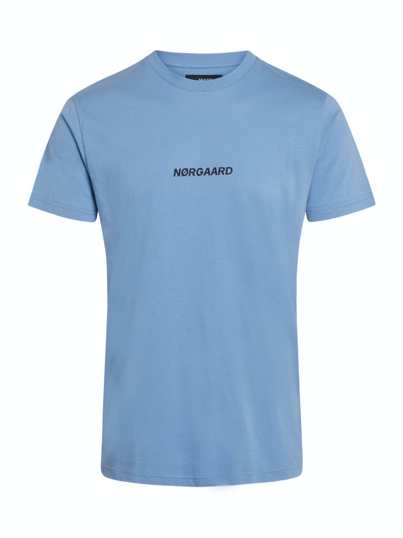 Mads Nørgaard T-shirt - Øko Logo Riviera | GATE 36 Hobro